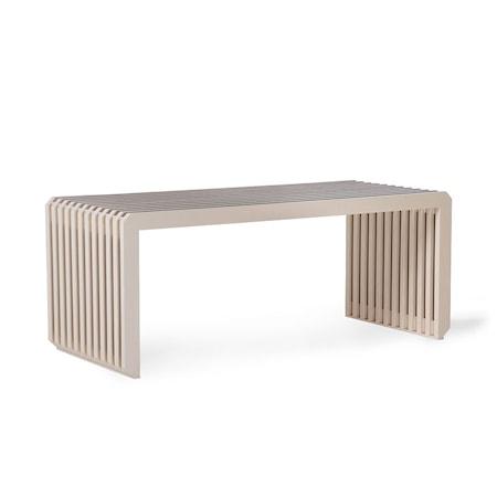Slatted Bench/Element Sand