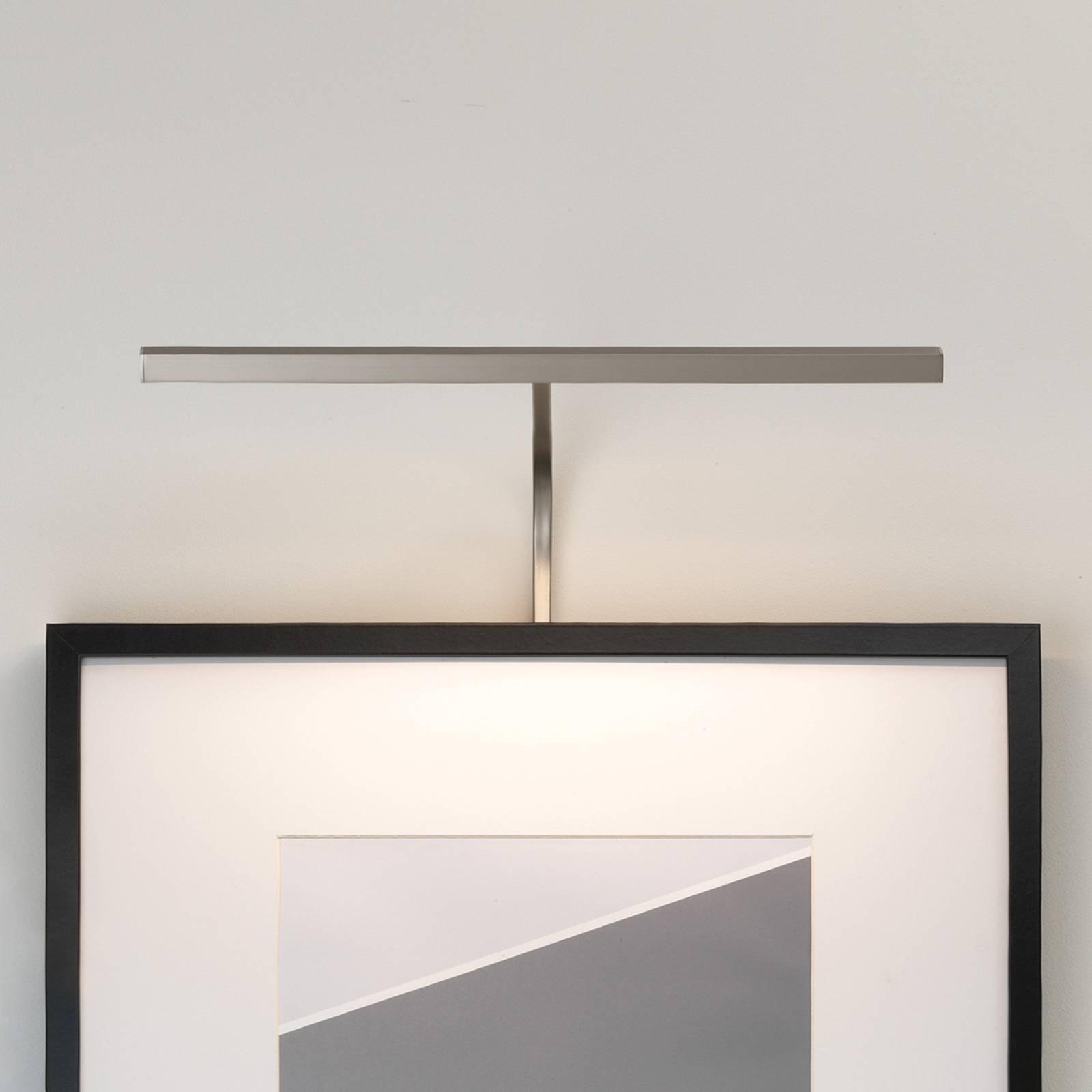 Astro Mondrian rammemont. vegglampe, nikkel 40 cm