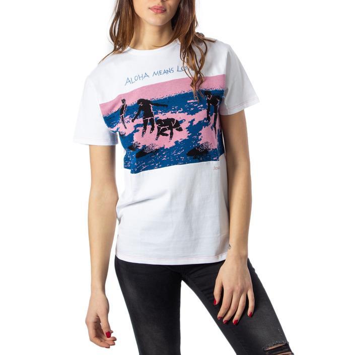 Desigual Women's T-Shirt White 170609 - white M