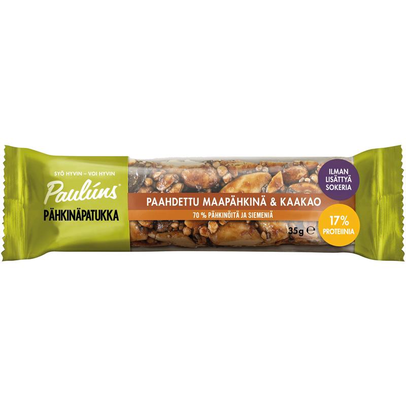 Pähkinäpatukka Maapähkinä & Kaakao - 32% alennus