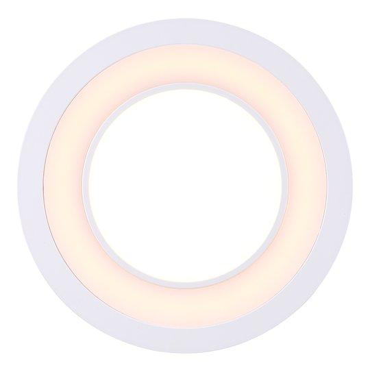 LED-kattouppovalaisin Clyde lämmin valkoinen Ø15cm