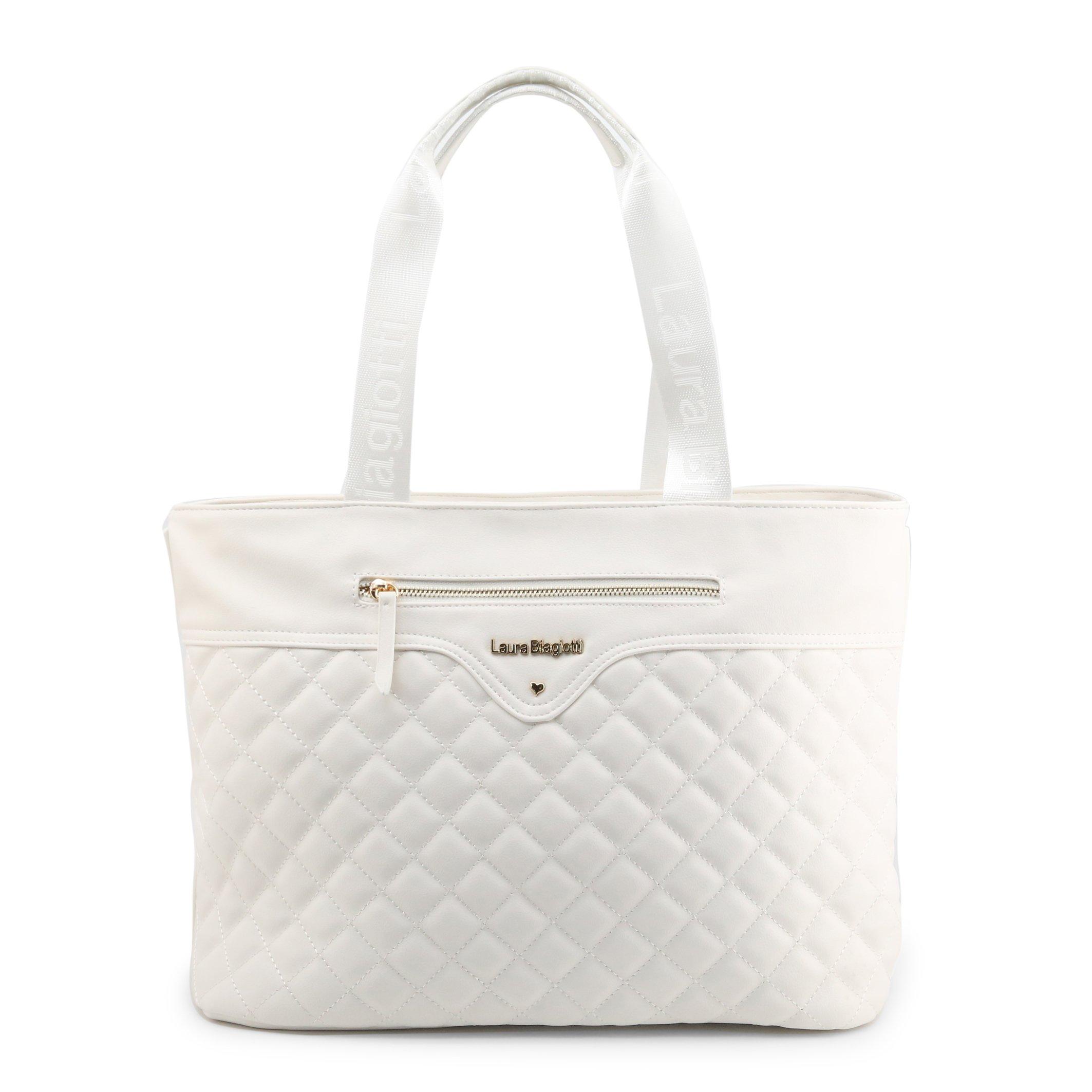 Laura Biagiotti Women's Shoulder Bag Various Colours Perkins-102-6 - white NOSIZE