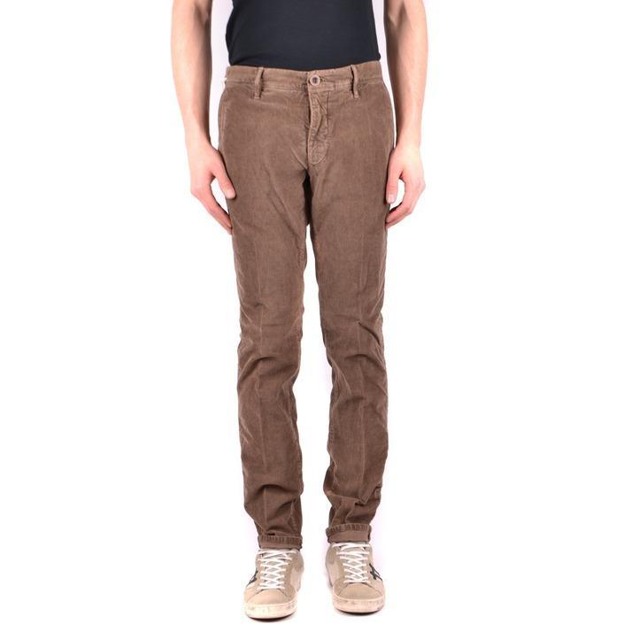 Incotex Men's Trouser Brown 162090 - brown 32