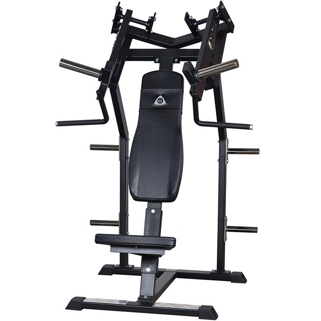 Gymleco Snedbänkpress Friviktsmaskin - Individuella Armar, Styrkemaskin Bröst