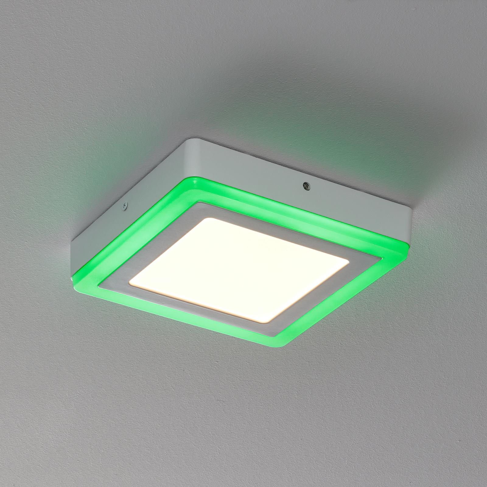 LEDVANCE LED Color+white square-kattovalaisin 20cm