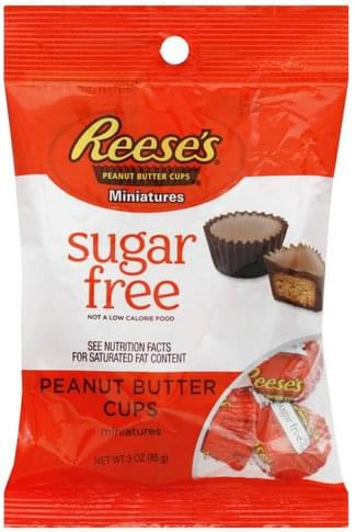 Reeses Zero Sugar Peanut Butter Cup Miniatures 85g