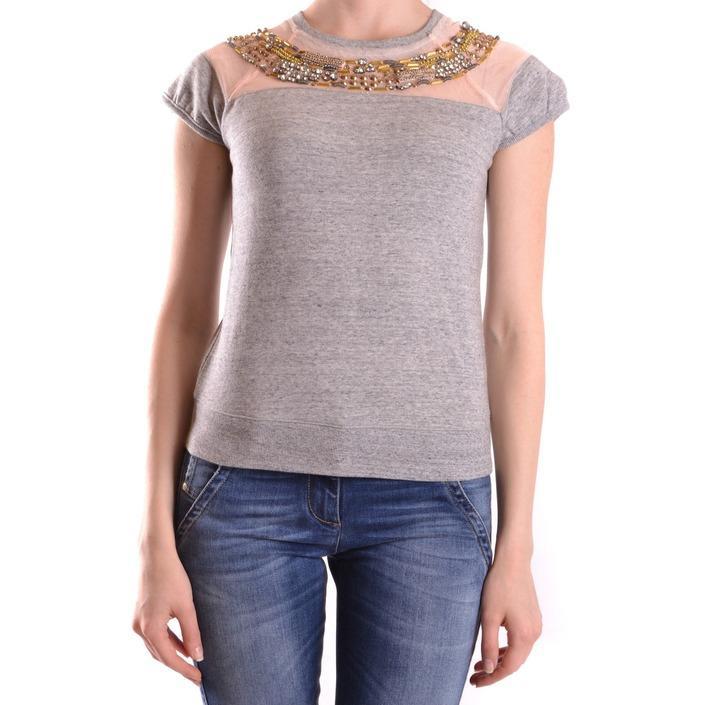 Pinko Women's T-Shirt Grey 160959 - grey S