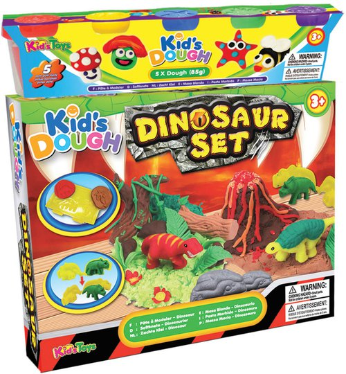 Kid's Dough Lekeleire Dinosaur