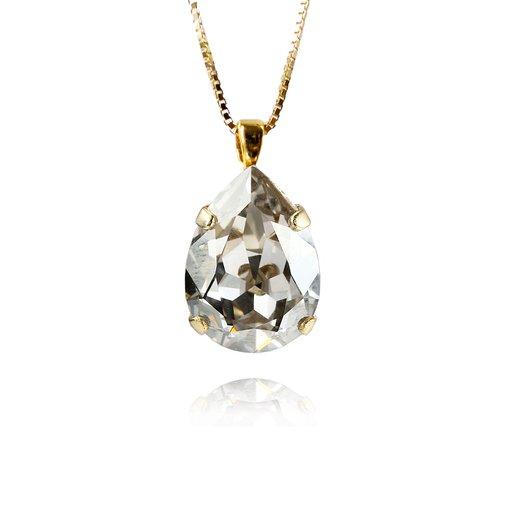 Halsband Classic Drop Crystal