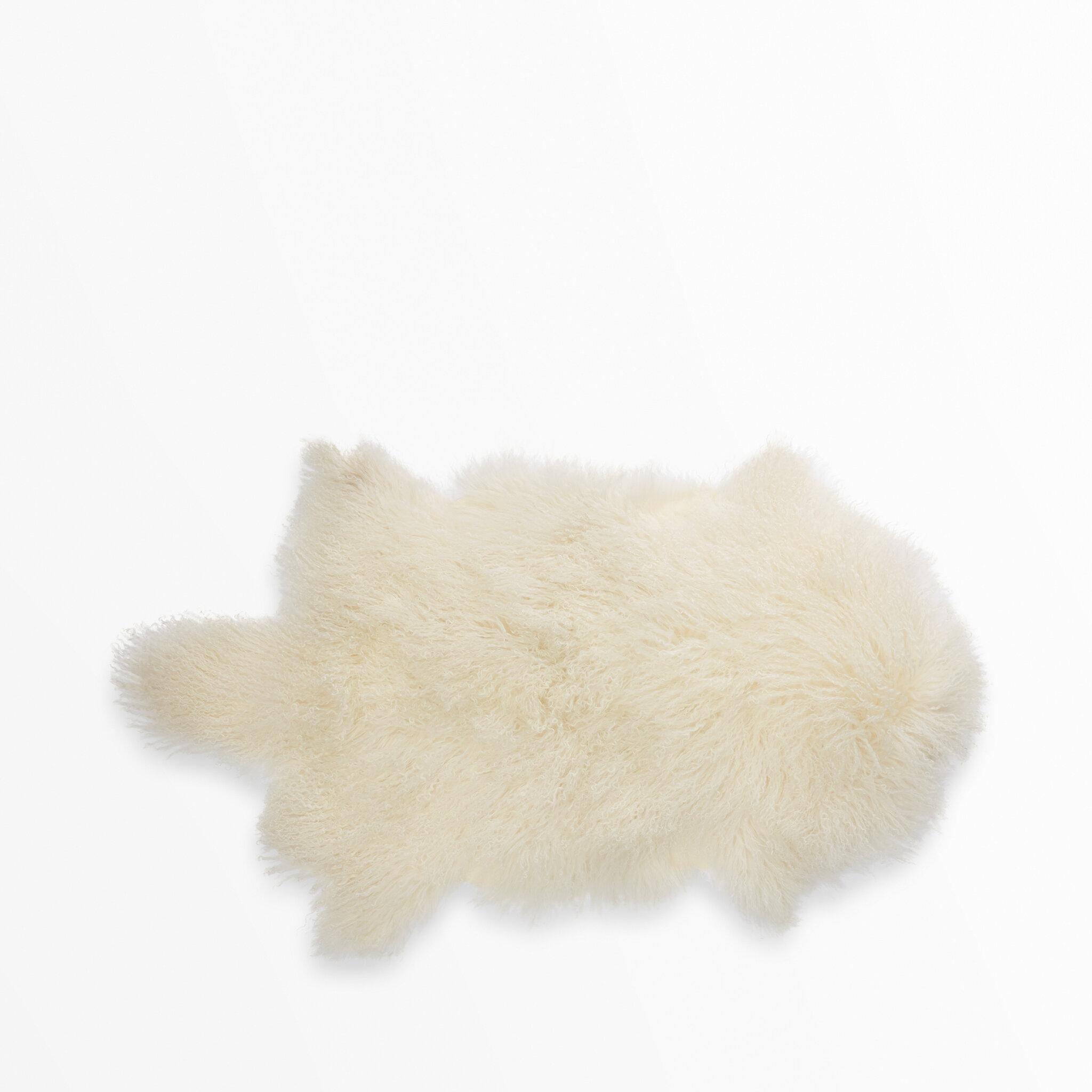 Fårskinn Mongolien 50x90 cm