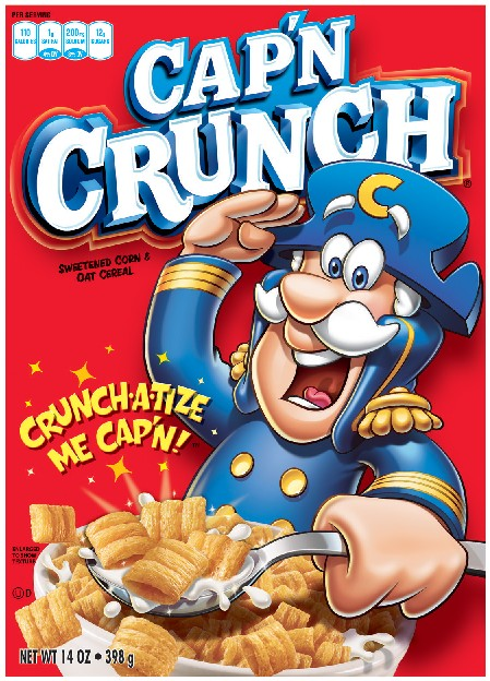 Cap N Crunch 397gram