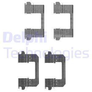 Tarvikesarja, jarrupala DELPHI LX0530