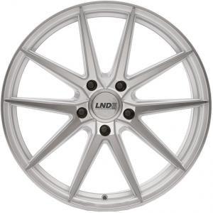 LND R9 Silver polished 9x20 5/112 ET38 B66.6