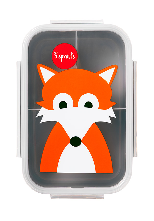 3 Sprouts - Bento Box - Gray Fox