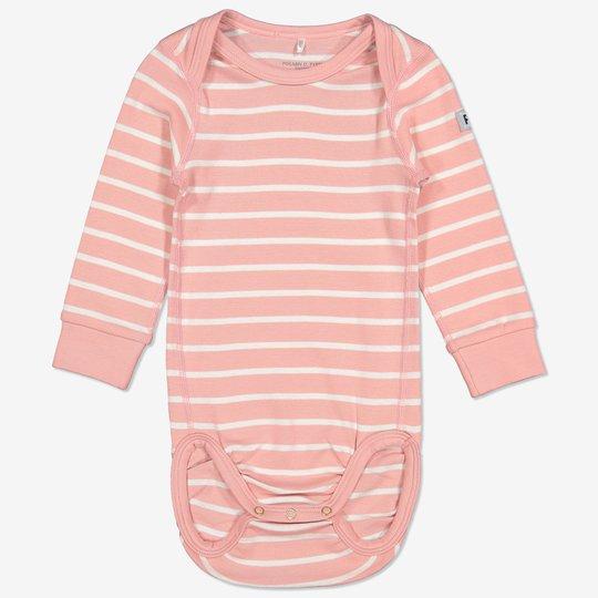 Stripet body baby rosa