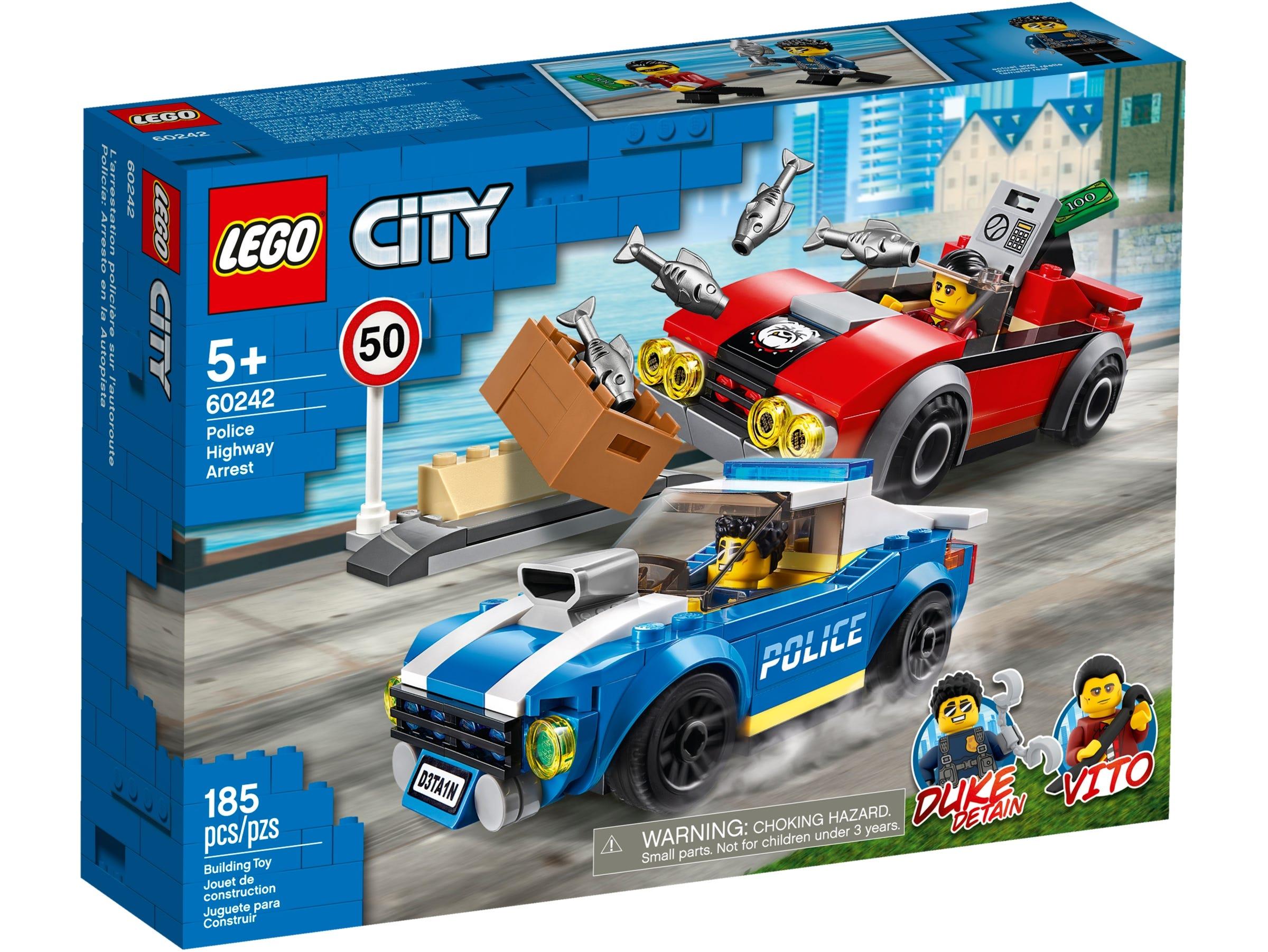 LEGO City - Police Highway Arrest (60242)