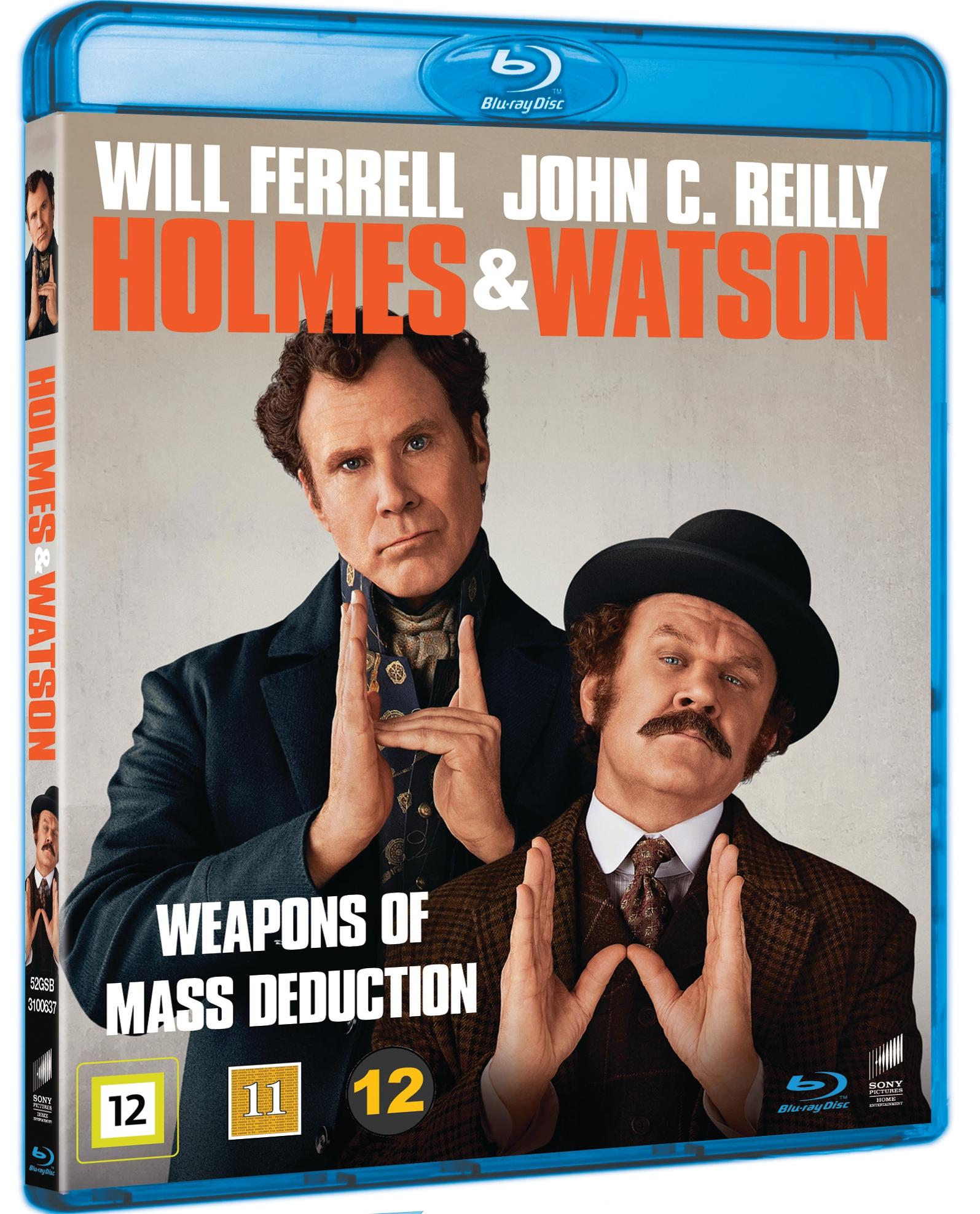 Holmes & Watson Blu ray