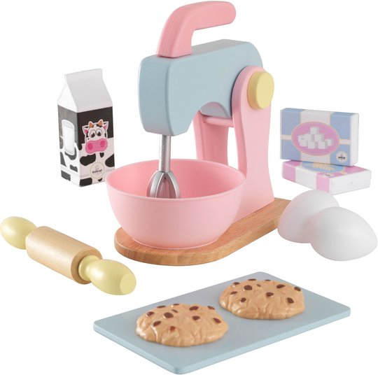 KidKraft Baking Set Kjøkkentilbehør, Pastell