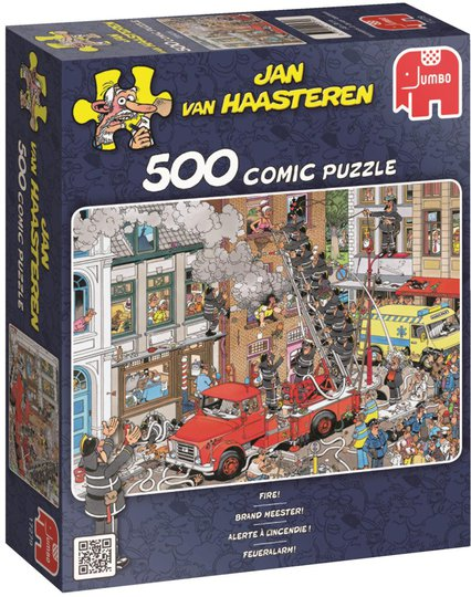 Jumbo Puslespill Jan van Haasteren Fire 500
