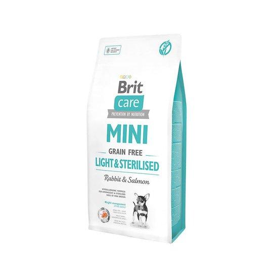 Brit Care Mini Grain Free Light & Sterilised (7 kg)