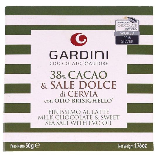 Mjölkchoklad med havssalt & olivolja - 58% rabatt