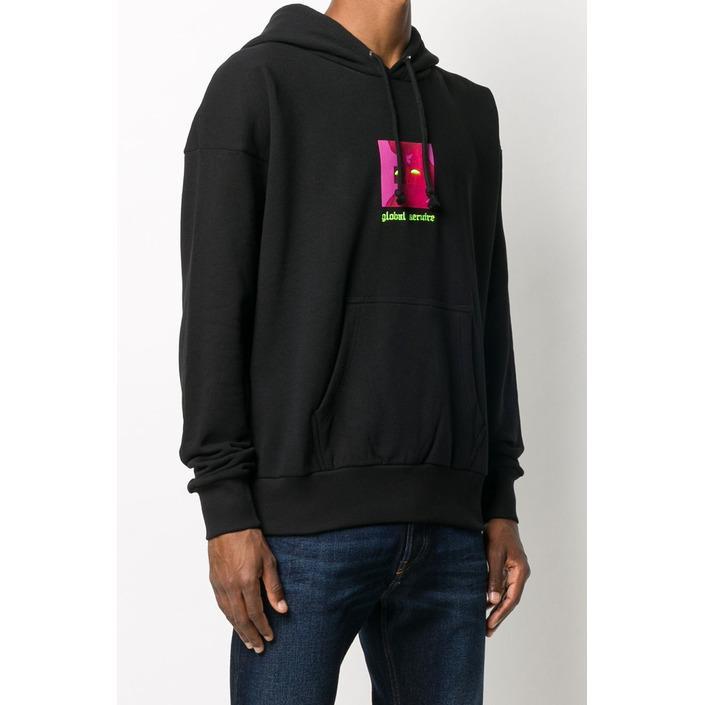 Diesel Men's Sweatshirt Black 294025 - black L