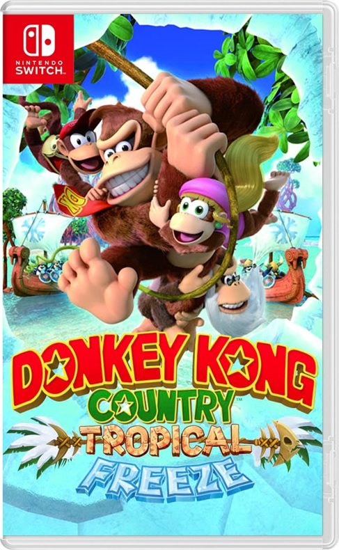 Donkey Kong Country Returns - Tropical Freeze
