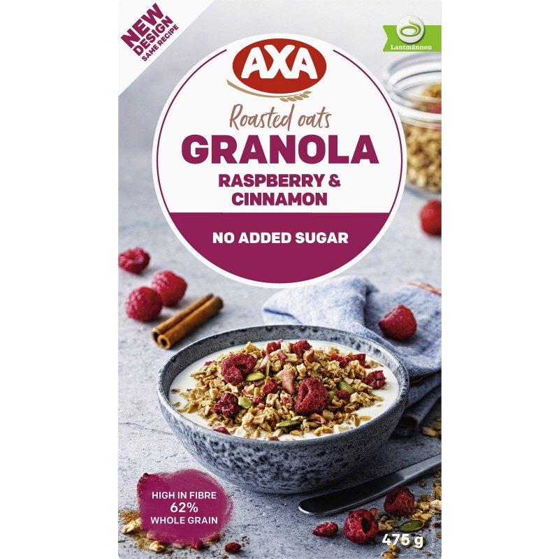 Granola Vadelma & Kaneli - 20% alennus