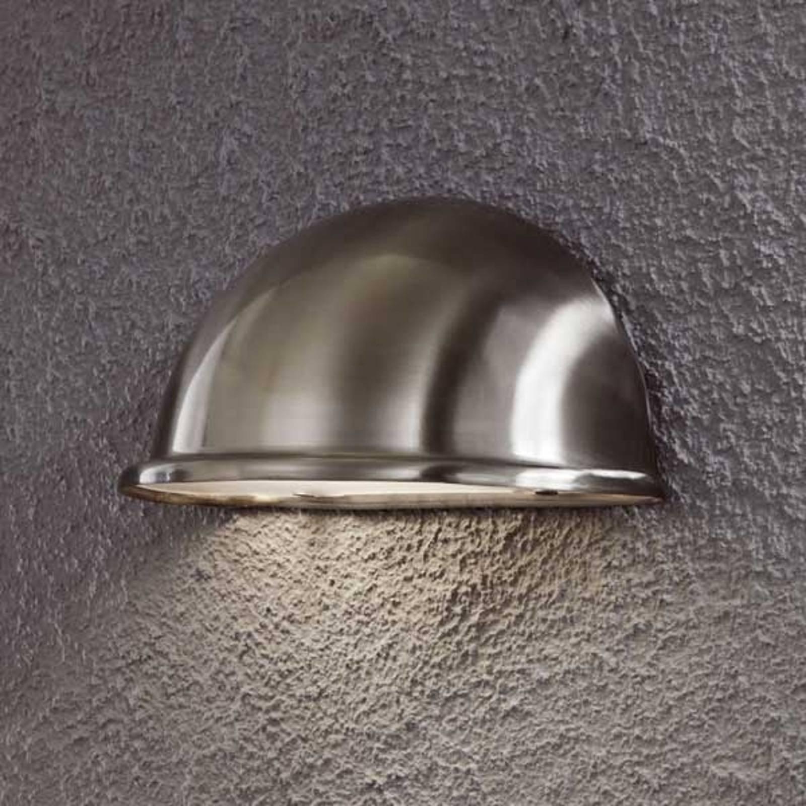 Vakker TORINO E14 utebelysning i rustfritt stål