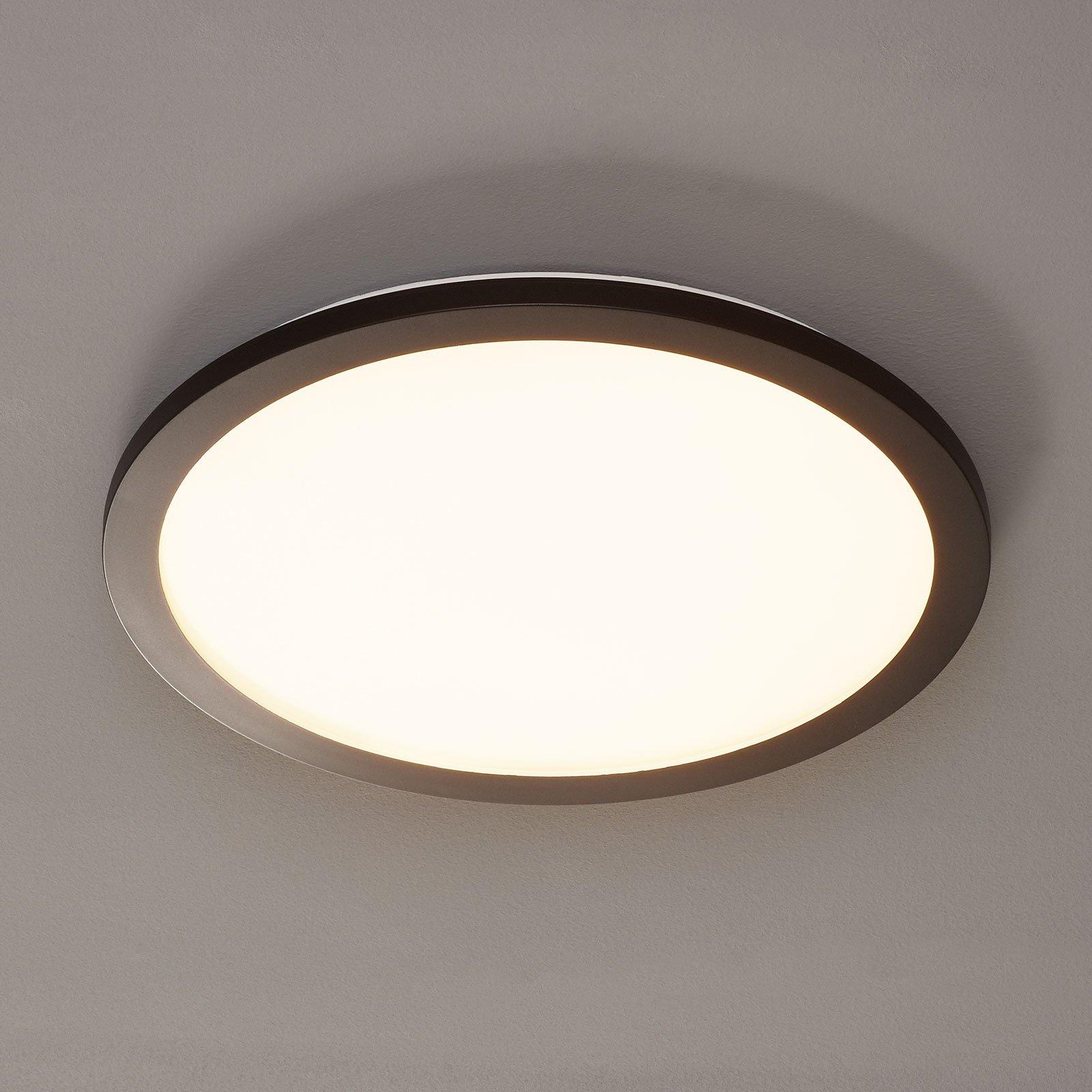 LED-taklampe Camillus, rund, Ø 40 cm