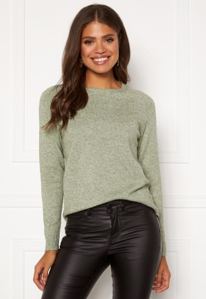 ONLY Lesly Kings L/S Pullover Basil L