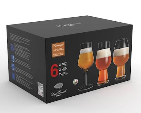 Birrateque Ölglas-Set 3x2 st