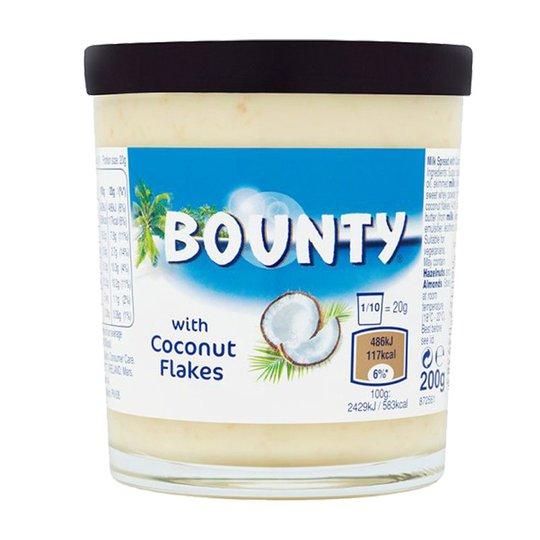 """Pålägg """"Bounty Spread With Coconut Flakes"""" 200g - 25% rabatt"""