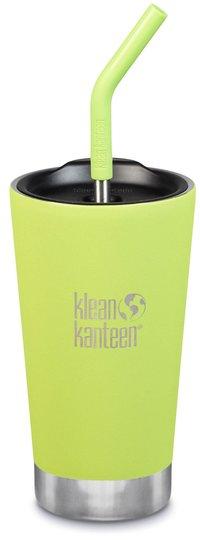 Klean Kanteen Insulated Tumbler med Sugerørlokk 473ml, Juicy Pear