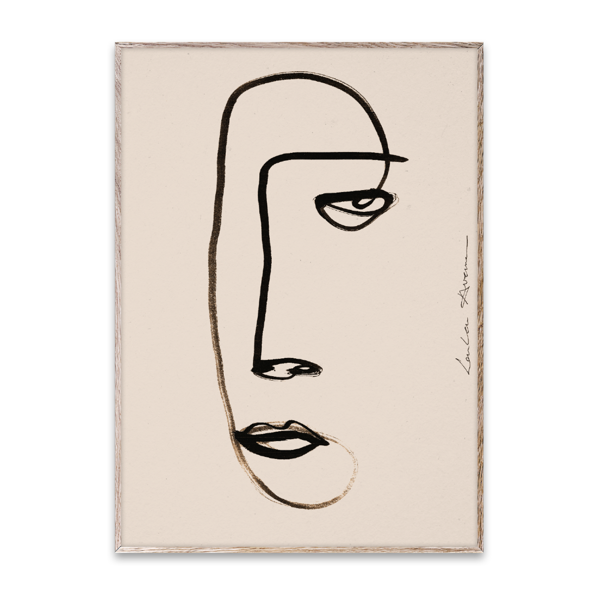 Paper Collective Poster Serious Dreamer 30x40 cm