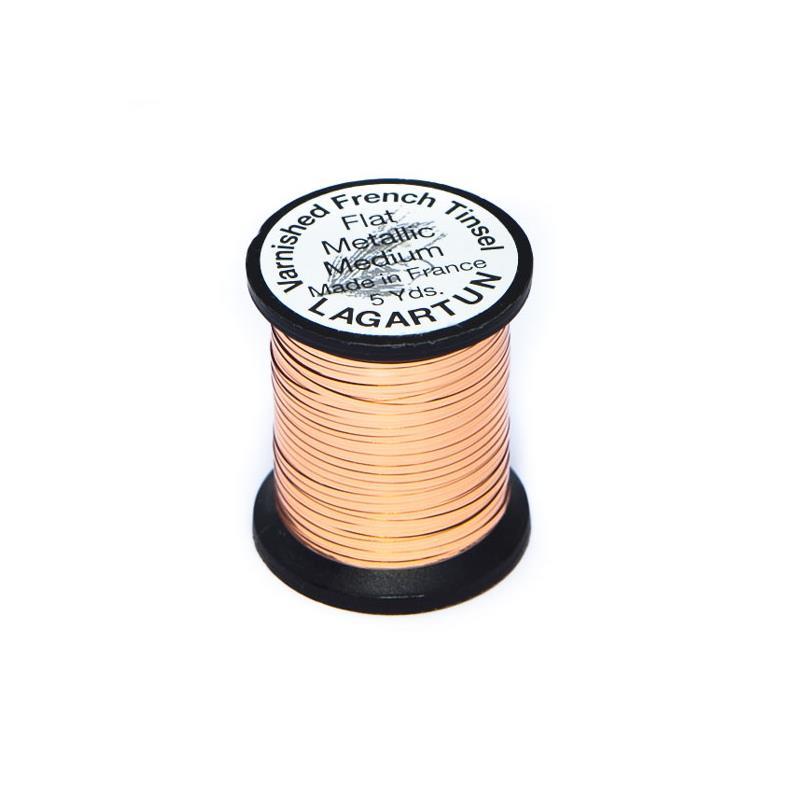 Lagartun Flat Metal Tinsel Copper M