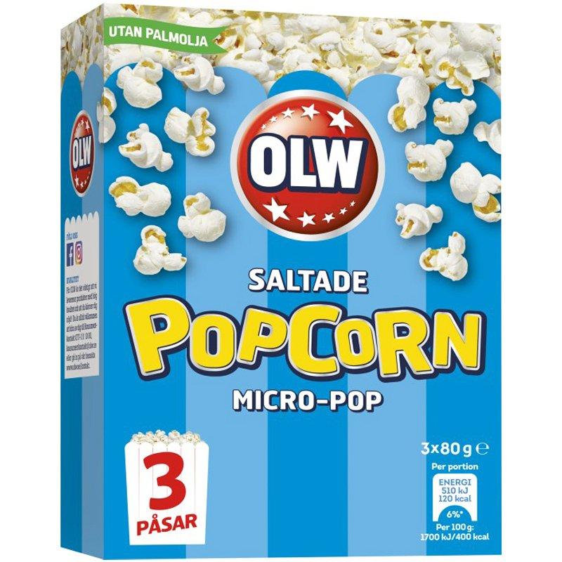 Popcorn Salt 3-pack - 23% rabatt
