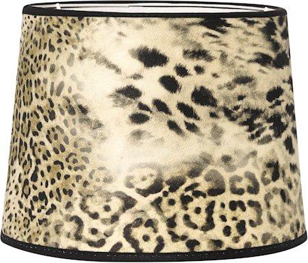 Lampeskjerm Sofia Leopard
