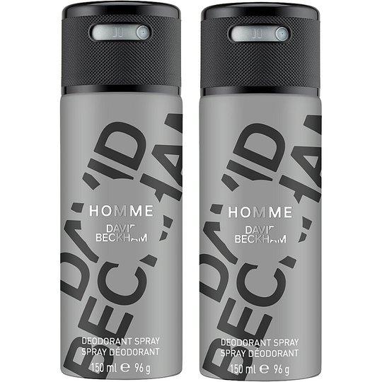Homme Duo, David Beckham Miesten deodorantit