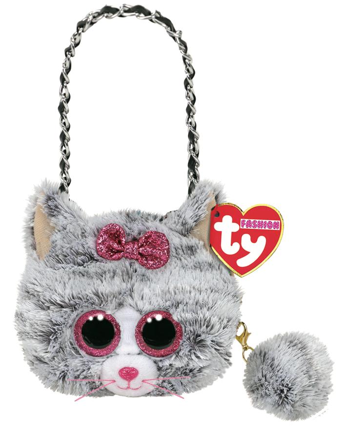 Ty Plush - Mini Purse - Kiki the Cat (TY95218)