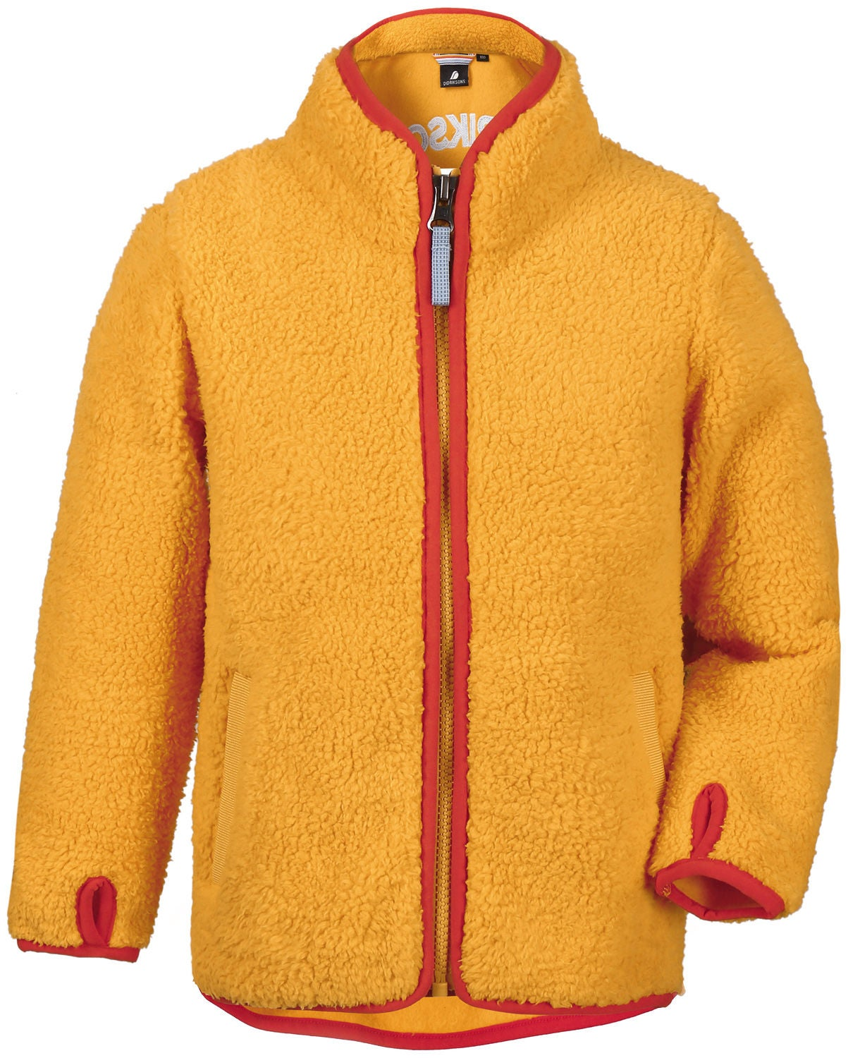 Didriksons Lo Pile Jacka, Mellow Yellow, 80