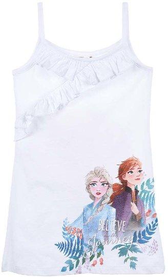 Disney Frozen Kjole, White, 4 År