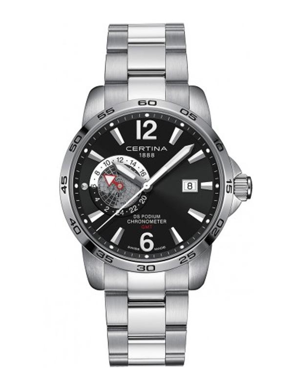 Certina DS Podium GMT COSC Chronometer C034.455.11.057.00