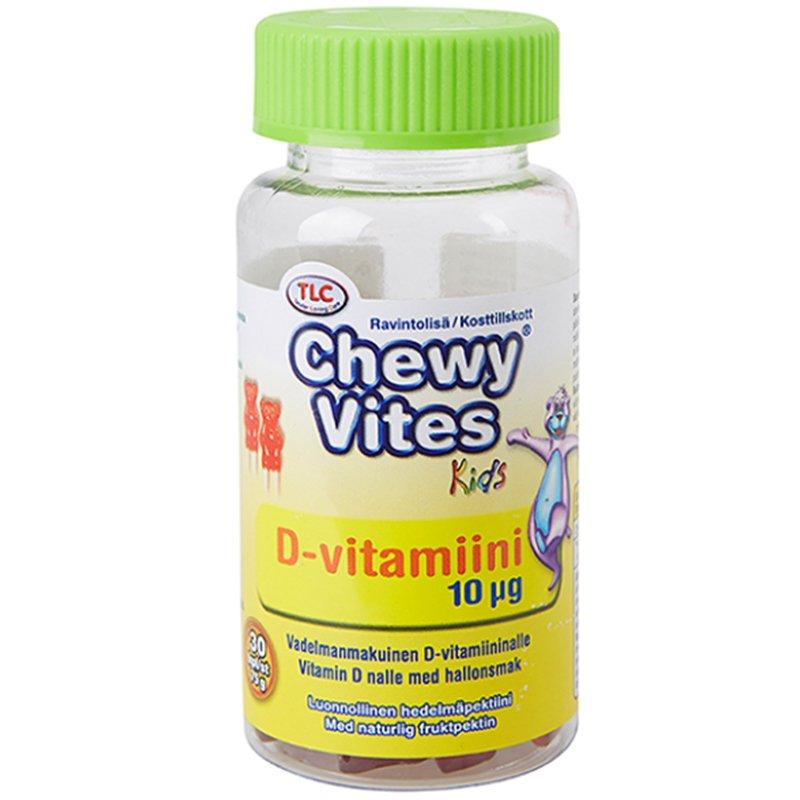 Ravintolisä D-vitamiini 30 kpl - 55% alennus