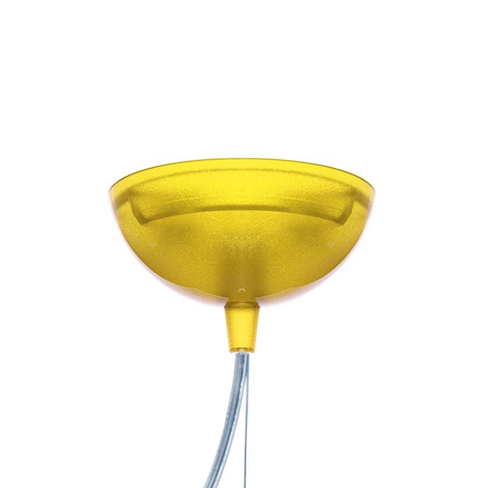 Kartell Small FL/Y -LED-riippuvalaisin keltainen