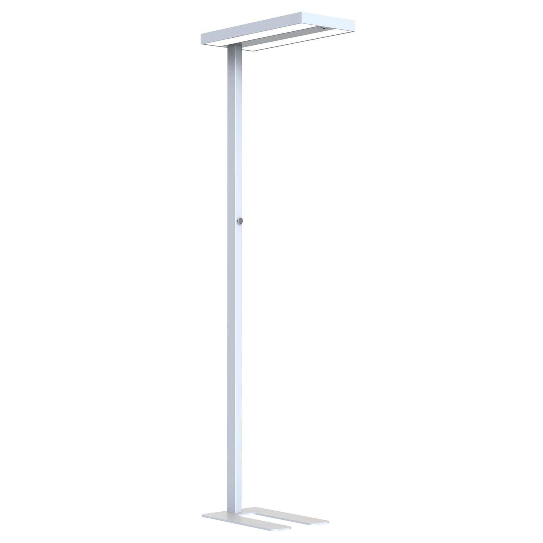 Arcchio Nelvana -LED-tunnistin-lattiavalo, hopea