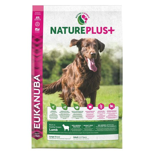 Eukanuba Nature Plus+ Adult Large Breed Lamb (2,3 kg)