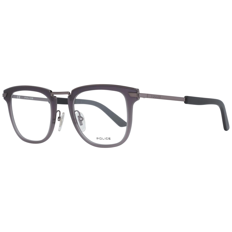Police Men's Optical Frames Eyewear Grey VPL566 480568