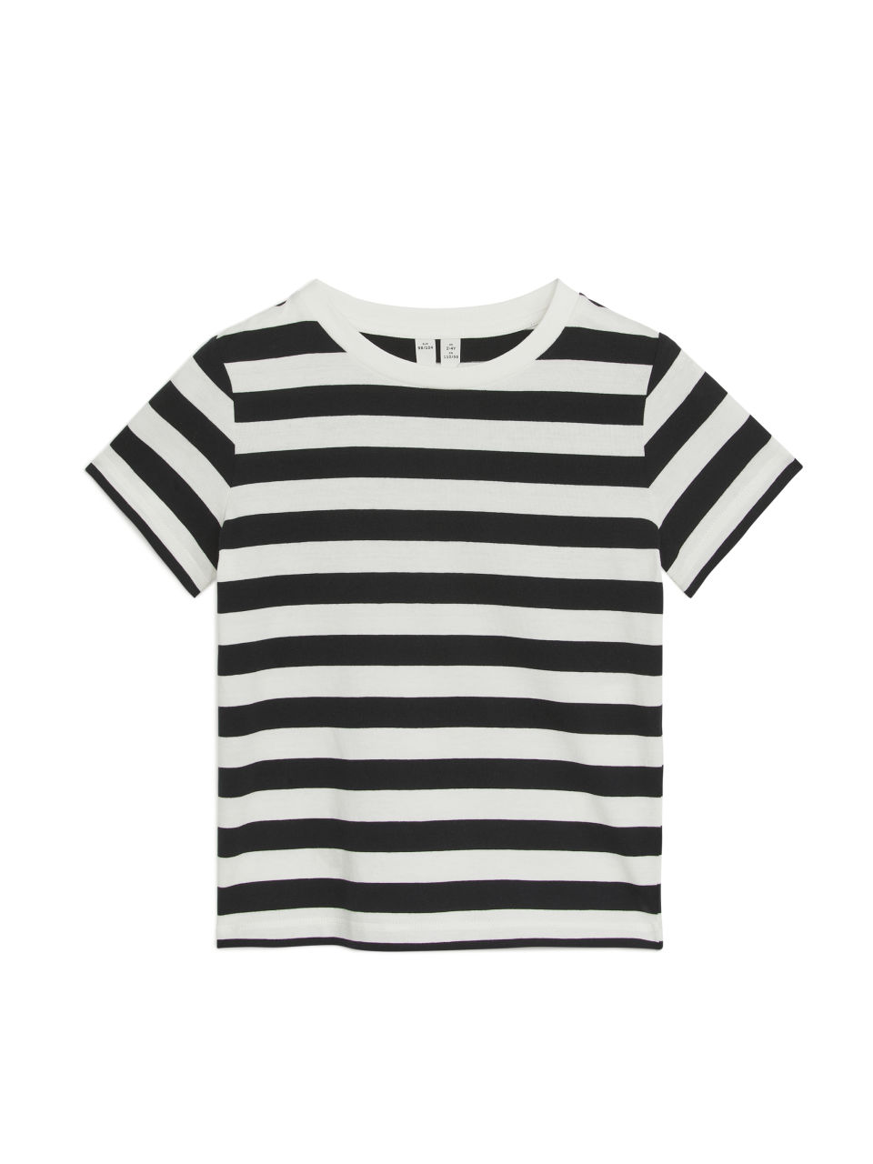 Striped T-Shirt - Black