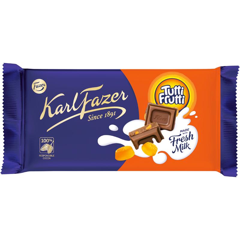 Chokladkaka Tutti Frutti - 12% rabatt